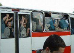 40% московских автобусов оборудуют для инвалидов к концу 2009 года