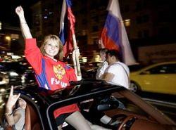 Матч Россия-Испания перекроет центр Москвы