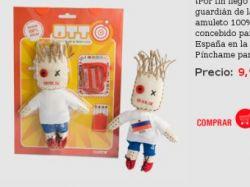 Испанцы смогут совершать ритуал вуду над куклой игрока сборной России