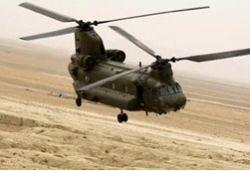 В Афганистане упал вертолет НАТО