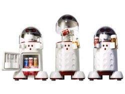 Робот, приносящий пиво – мечта болельщика