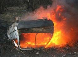 В Челябинске начали гореть автомобили