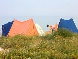 В Турции туристы предпочитают отдыхать в палатках