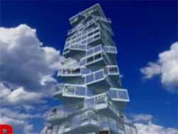 Первый в мире вращающийся небоскреб