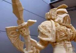 Скульптуры из монтажной пены