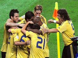 ЕВРО-2008. Испания-Россия