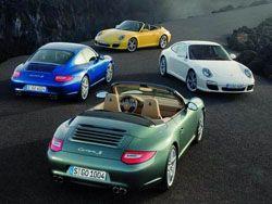 Porsche представил фотогалерею нового 911 Carrera