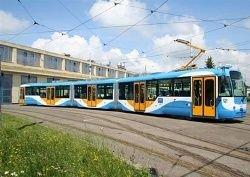 В Москве испытывают скоростной трамвай