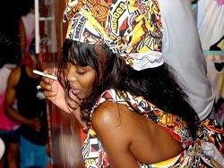 Звезды на Бразильском карнавале