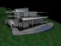 Американка строит дом из обломков самолета