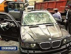 Захват заложницы в центре Москвы