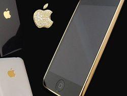 Первый iPhone 3G в золоте и с бриллиантами
