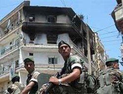 Взрыв в Триполи, есть жертвы