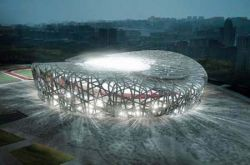 В Китае готов главный олимпийский стадион