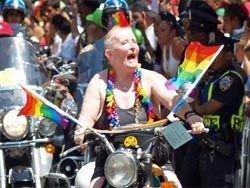 Гей-парад на улицах Сан-Франциско