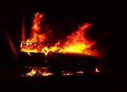 В Москве снова горят машины