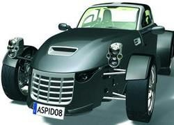На Лондонском автосалоне покажут суперкар Aspid