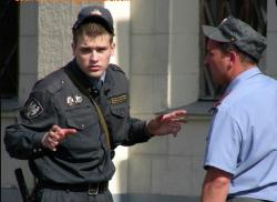 В России сотрудники милиции, прокуратуры и суда стоят над законом