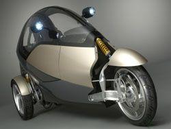 Трицикл будущего Clever разработан немецкими учеными