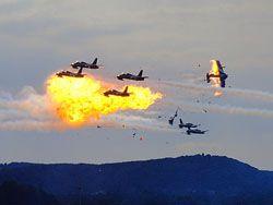 Трагедия на авиашоу в городе Рамштайн