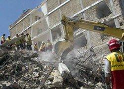 В Тегеране обрушилось здание: минимум 19 человек погибли
