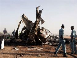 Авиакатастрофа в Судане