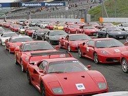 500 Ferrari на одной трассе