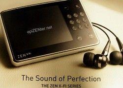 MP3-плееры и интернет станут едины благодаря Creative ZEN X-Fi