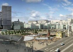 Белорусский вокзал: каким он будет через три года
