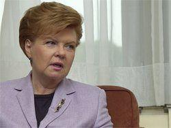 Латвийские антикоррупционеры занялись часами Вике-Фрейберги
