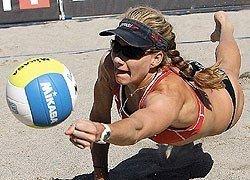 Москва принимает элитный турнир по пляжному волейболу