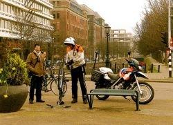 Голландская полиция будет ловить преступников на летающих автомобилях