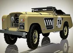 Cамый безумный Land Rover Series на свете