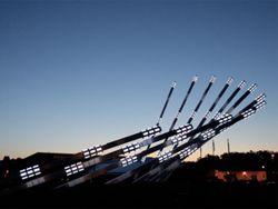 Солнечный коллектор в Канаде