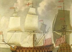 """Британские подводные археологи нашли \""""Титаник\"""" XVII века"""