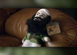 Кукольный бен Ладен проник в автомат с игрушками