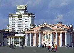 Во время беспорядков в Улан-Баторе сгорел национальный фонд картин