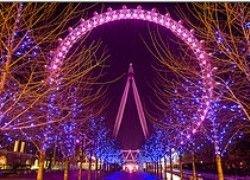 London Eye на несколько дней преобразится