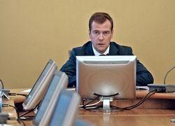 """Медведев считает Интернет \""""мощным антикоррупционным ресурсом\"""""""