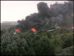 Самолет ВВС Чили разбился во время тренировочного полета