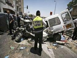 Террорист-бульдозерист устроил бойню в Иерусалиме