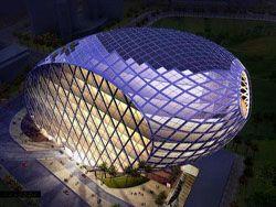 Архитектор Джеймс Ло построит здание-яйцо в Индии