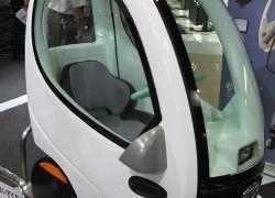 Японцы создали электромобиль весом 150 килограммов