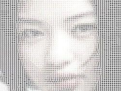 Рисунки из компьютерных символов ASCII