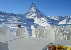 Панорамный ресторан на самой высокой обзорной точке Европы