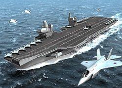 Великобритания потратит более £3 млрд на  двух гигантских авианосцев