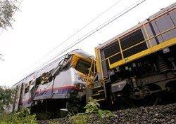 В Бельгии два поезда столкнулись лоб в лоб