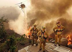 Огонь идет по Калифорнии