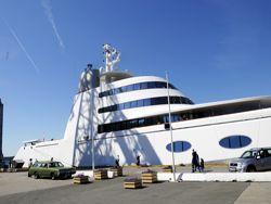 Яхта от дизайнера Филиппа Старка