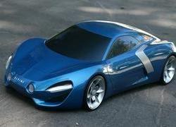 Русский дизайнер разработал концепт Renault Alpine